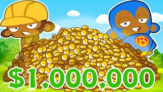 $5,000,000 EPIC STRATEGY (WIN EVERYTIME)! - BLOONS TOWER DEFENSE BATTLES (BTD BATTLES)