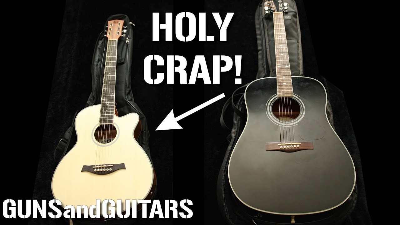 This cheap little guitar has BIG SOUND (Vangoa 3/4 scale acoustic/electric)