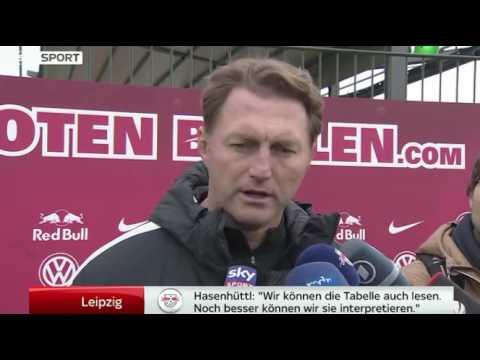 Fußball / RB Leipzig: Ralph Hasenhüttl über den 2. Pl ...