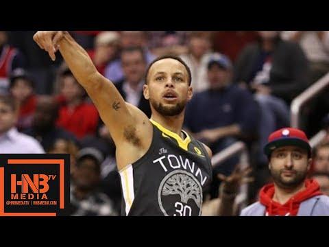 Golden State Warriors vs Washington Wizards Full Game Highlights / Feb 28 / 2017-18 NBA Season (видео)