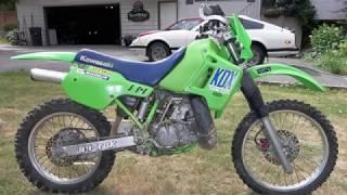 7. 1989 Kawasaki KDX200 REVIEW
