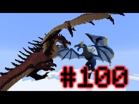 Minecraft Voltz Wars - War of The Dragons! #100