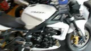 3. Triumph Street Triple R 675 106 Hp 141 mph 227 kmh 2012 * see Playlist
