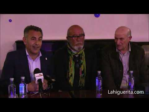Premio Manolo Cabot, de la Peña Los Mesoneros  a Custodio Soares Luzía  en el Carnaval de Isla Cristina 2020