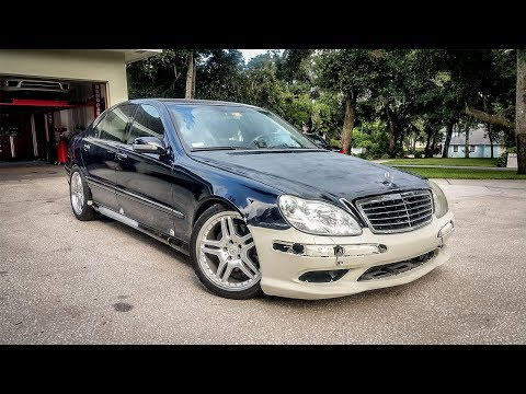 I Installed Some Really Cheap Wheels And They Look Amazing! - Project Mercedes-Benz S-Class Pt 17