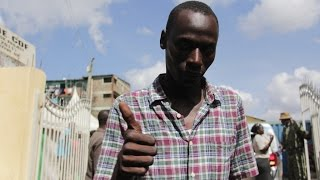 Toddler rescued from Huruma rubble re-united with father