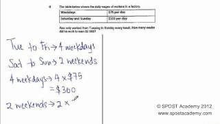 Woodlands Primary SA1 P2 2012 Part 2