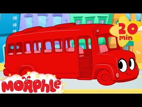 The wheels on the bus go round and round! Morphle Nursery Rhyme!