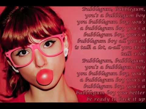 Tekst piosenki Pia Mia - Bubblegum Boy po polsku