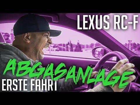 JP Performance - Lexus RC-F   Abgasanlage Erste Fahrt