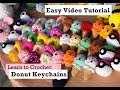 Download Lagu Donut keychains EASY CROCHET TUTORIAL by Crochet & Collections Mp3 Free