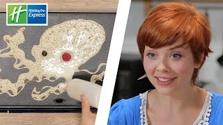 Real Artists Try Pancake Art // Presented By BuzzFeed & Holiday Inn Express
