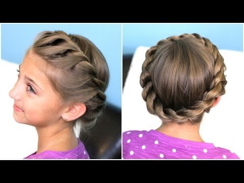 Crown Twist Braid | Updo Hairstyles