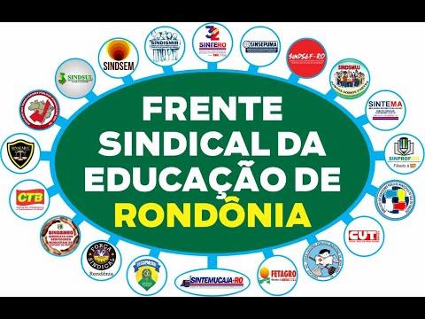 Frente Sindical da Educação de Rondônia posiciona-se contrária ao retorno das aulas presenciais
