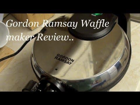 Gordon Ramsay Waffle Maker Review