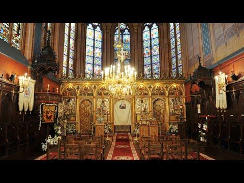 2021.04.16 DIRECT Denia Acatistului Maicii Domnului, Catedrala din Paris