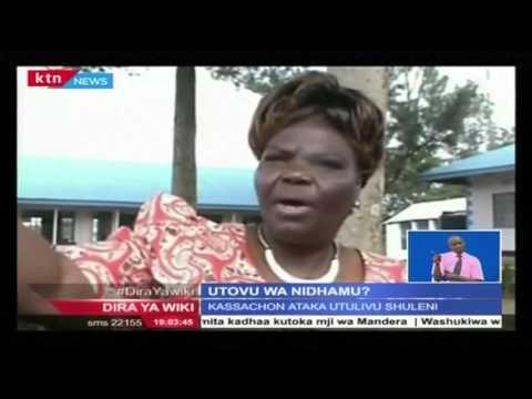 Utovu wa Nidhamu kwa wanafunzi walichoma bweni kutoka shule ya upili ya Givole