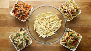 Easy One-Tray Pasta Bake Meal Prep by Tasty