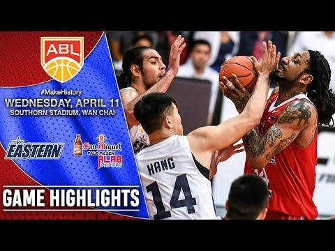 Hong Kong Eastern vs San Miguel Alab Pilipinas | GAME HIGHLIGHTS | 2017-2018 ASEAN Basketball League
