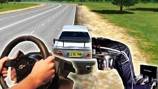 City Car Driving - Drifting Toyota Chaser Tourer (t500rs th8rs Steering Wheel Simulator Gameplay)