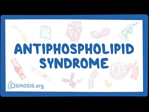 Antiphospholipid syndrome - causes, symptoms, diagnosis, treatment, pathology