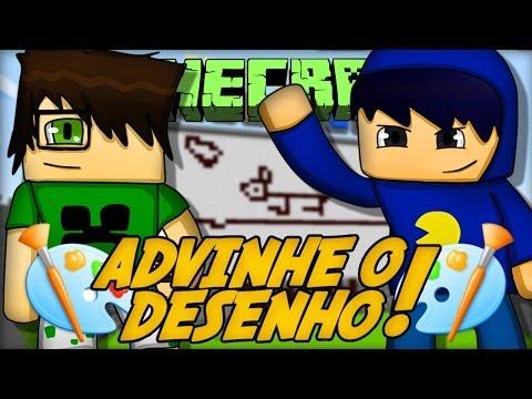Minecraft: ADIVINHE O DESENHO (Mini-Game Novo)