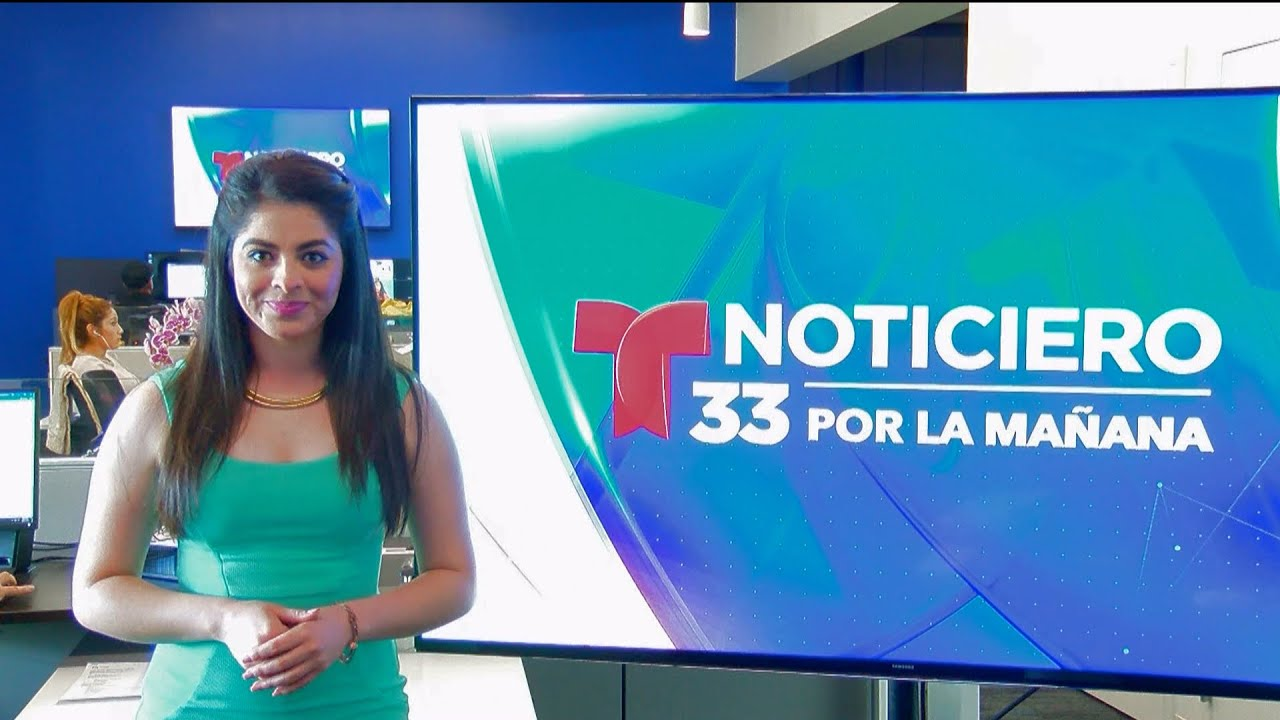 NOTICIERO 33 POR LA MAÑANA 9/21/16 9AM