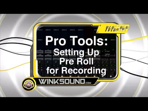 Pro Tools: How To Setup the Pre Roll | WinkSound