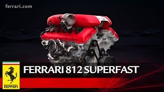 At the development stage, Ferrari's engineers set themselves the goal of exceeding the specific power output of the F12berlinetta's V12.To do so, they decided to focus their efforts principally on optimising the intake system and combustion efficiency to fully exploit the increase in the engine's displacement from 6.2 to 6.5 litres. These aspects increased the maximum amount of air that could be drawn into the engine (and thus its power output) thereby boosting its efficiency.The development process resulted in a maximum power output of 800 cv at 8,500 rpm, a new benchmark for the Ferrari range, in addition to a specific power output of 123 cv/l, a completely unprecedented figure for an engine front-mounted in a production car.Go to the Web Special: http://812superfast.ferrari.comSubscribe ferrariworld: http://www.youtube.com/subscription_center?add_user=ferrariworldFollow us on Facebook http://www.facebook.com/Ferrari and Twitter http://twitter.com/ferrariFerrari Since 1947http://www.ferrari.com