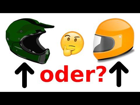 Motocross oder Integralhelm? (Supermoto)