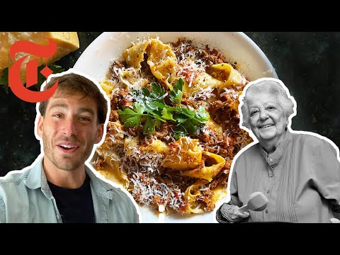 How To Make Marcella Hazan's Famous Bolognese Sauce | NYT Cooking