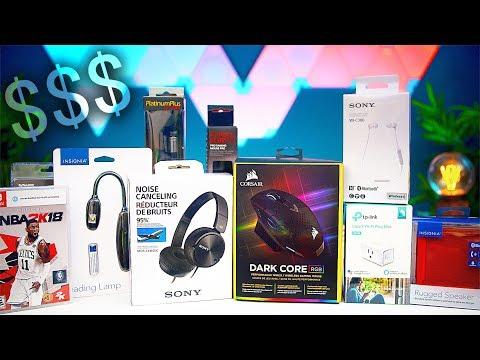 Massive Tech Haul! (Under $200 Challenge)
