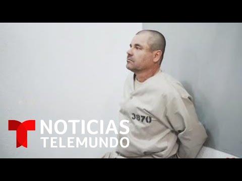 Salen a la luz videos inéditos de 'El Chapo' contestando preguntas tras su última captura