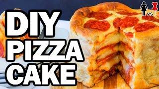 DIY Pizza Cake, Corinne VS Pin #7, Pinterest Test