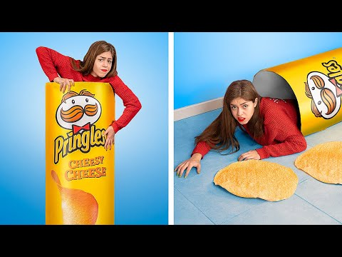 Eating Potato Chips for 24 Hours!