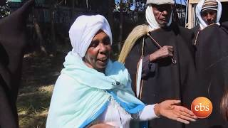 ሰሞኑን አዲስ የበርኖስ ልብስ አዘገጃጀት በደብረብርሐን ልዩ ፕሮግራም /Semonun Addis Ethiopian Bernos Worn By Fathers