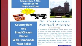 St. Catherine Parish Picnic in New Haven is June 7th