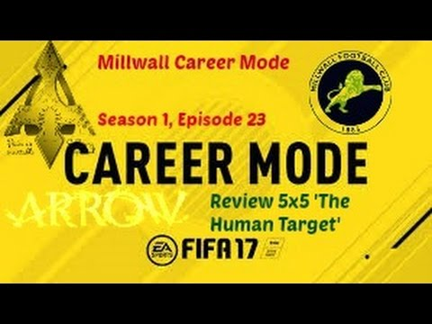 FIFA 17 Millwall Career Mode S01E23 | Arrow 5x5 Review | SwifTs YT |