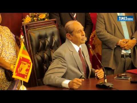 New Foreign Affairs Minister Tilak Marapana
