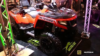 2. 2017 Arctic Cat Alterra TRV XT Recreational ATV - Walkaround - 2016 Toronto ATV Show