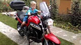 8. Moto Guzzi Breva V1100 Termignoni Titanium muffler sound (outside)