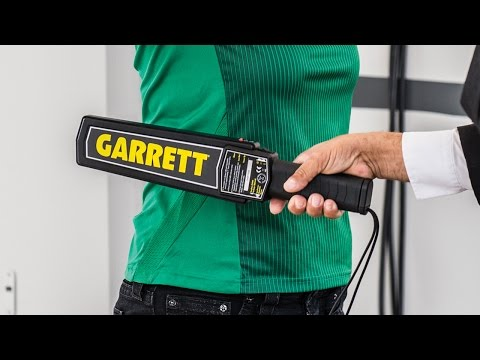 Garrett Super Scanner Instructional Video