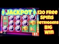 *120 FREE SPINS BIG WIN * CHINA SHORES HIGH LIMIT SLOT MACHINE JACKPOT HANDPAY MULTIPLE RETRIGGER