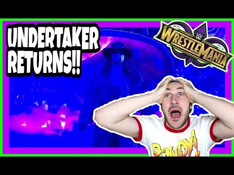 Reaction | THE UNDERTAKER RETURNS TO FACE JOHN CENA | WWE Wrestlemania 34 New Orleans April 8 2018