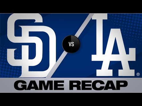 Video: Bellinger, Ryu lead Dodgers to a 5-1 victory | Padres-Dodgers Game Highlights 7/4/19