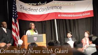 Why Kalki Subramaniam got a Standing Ovation at Harvard India Conference