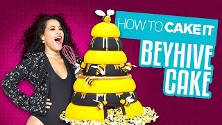 Video A Beehive Cake for the Beyhive! Delicious cake for Queen B!   Yolanda Gampp   How To Cake It MP3, 3GP, MP4, WEBM, AVI, FLV Maret 2019