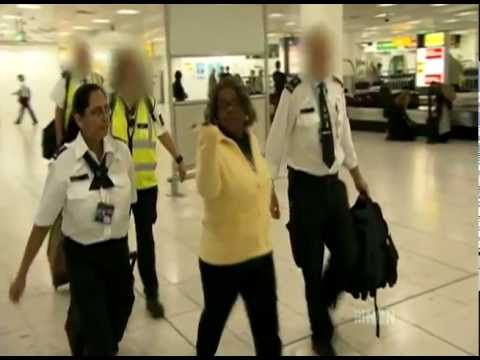 Customs Uk (gatwick Airport) - The Gangsta Granny Drug Smuggler