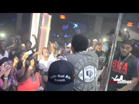 Kevin Gates performing at Black Diamonds Jackson, Mississippi (видео)