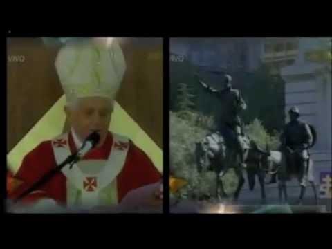 JMJ MADRID 2011 - Primeras declaraciones del papa
